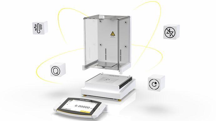赛多利斯Cubis® II新一代模块化高端实验室天平